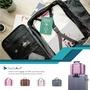 【NaSaDen】雪佛包-肩背/手提/穿套行李箱-三用超質感時尚收納包/收納袋/行李袋-相當一個16吋的行李箱