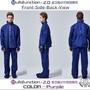 送鞋套免運【東伸】多功能外套雨衣 背包專利二件式雨衣-藍色 紫色 (雨衣、風衣、外套)