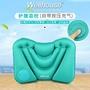 按壓式充氣腰枕便攜靠墊腰飛機腰靠枕坐火車護腰枕頭充氣腰墊旅行