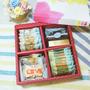 *樂意小坊*《Happy Wedding-單層喜餅禮盒》 共有10種口味的手工餅乾,喜氣洋洋的大紅包裝,告訴大家我要結婚了!!!