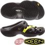 KEEN 1020314黑/彩色 Yogui Arts 女戶外護趾拖鞋/水陸兩用鞋