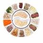 【BESTGO】網紅同款菜盤子太極拼盤套裝圓桌擺盤餐具餐廳酒店拼盤組合餐具