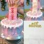 滿199元出貨台灣熱銷可大量批發抽錢盒子禮物機關蛋糕裝飾紅包拉錢神器抖音同款生日烘焙收錢驚喜hidan5