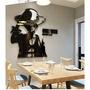 I1-路飛海賊王 海賊王路飛 壓克力立體壁貼 海賊王 航海王 魯夫 索隆 喬巴 壓克力 壁貼 牆貼 兒童房 3D立體