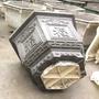 花盆模具盆水泥模具六角歐式塑料盆景現澆模型混凝土花盆磨具自制