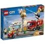 2019年LEGO樂高CITY系列 Fire 60214 漢堡餐廳火災救援