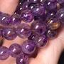💕安妮幸福能量💕天然紫鈦晶單圈手珠   紫鈦晶,可同時對應到七脈輪,尤其心輪以上的喉輪、眉心輪(第三眼)與頂輪