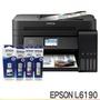 EPSON L6190+一組墨水 雙網四合一傳真 連續供墨複合機