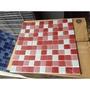 琉璃馬賽克磁磚-紅/藍/橘/灰