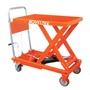 手動油壓升降台車/平台車/手推車-可折式手柄-載重:150Kg-揚升最高高度750mm(LT-150F)