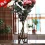 花瓶 水培花瓶 玻璃花瓶 花器 居家擺件包郵落地客廳擺件插花干花清新大透明玻璃花瓶水培百合富貴竹花瓶