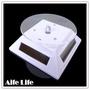 【aife life】太陽能七彩LED燈展示架/LED燈旋轉台/旋轉展示檯/展示架/產品展示台
