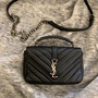 YSL Saint Laurent mini 學院包 絕版美包