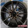 【超前輪業】經銷專賣 新款 ENKEI SC47 SC-47 18鋁圈 5孔114.3 黑底+陽極金面