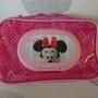 日本阿卡將 迪士尼米妮3D濕紙巾收納袋/外出包