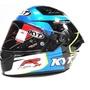 KYT NFR NF-R  T 藍 彩繪帽 全罩安全帽 內襯全可拆 內藏鏡片《裕翔》