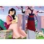 【新款】公主 花木蘭 演出服cosplay服裝 成人 兒童