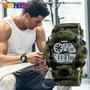 时刻美SKMEI戶外運動手錶男士鬧鐘5Bar防水軍用手錶LED顯示屏震動數字手錶1019