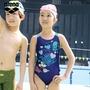 新款arena 兒童連體三角泳衣 大童/女童泳裝迪士尼系列可愛高彈帶胸墊
