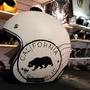 美國品牌TORC郵戳熊麂皮安全帽