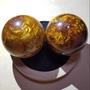 金絲海柳琥珀健康球