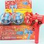汽車.消防車風扇泡泡棒 手搖式風扇+泡泡水/一盒6個入{促80}環保電風扇~CF129036