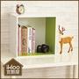 【ikloo】現代風二格收納櫃/置物櫃◆2色可選◆(特賣)