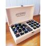 多特瑞doterra精油收納木盒25格 收納盒子 24 1格精油展示盒