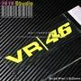 46羅西VALE46-熒光黃熒光貼花貼紙YAMAHA車貼反光貼