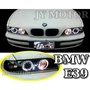JY MOTOR 車身套件~BMW E39 1995-2000年 黑框 LED 光圈 魚眼大燈