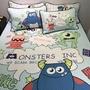 怪獸大學天絲涼蓆床包組