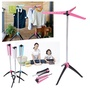 Portable Foldable Clothes Garment Drying Rack Hanger Stand Home Laundry Dryer