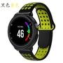 適用於佳明Garmin Forerunner220/approach S5/approach S20雙色透氣錶帶運動錶帶