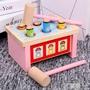 玩具 大號打地鼠幼益智敲琴動物帶音樂敲擊木質智力1-6歲玩具
