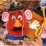 日本 迪士尼樂園 玩具總動員 蛋頭先生 票卡夾 票夾 票套 卡套 卡夾 悠遊卡夾 悠遊卡套 識別證 零錢包