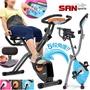 四角度飛輪式磁控健身車(超大座椅+舒適椅背)2.酷黑橘