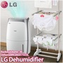 [Super Sale!]LG Dehumidifier LD-109CZR 10L / LD-139DES 13L/Day Bucket 4L 235W Automatic Humidity Control