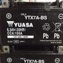 YTX7A-BS GTX7A-BS GTX7A-12B7號機車電池A全新湯淺YUASA機車電池2019年5月製造