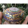 景泰藍銅胎,粉盒首飾盒印泥盒,珠寶盒