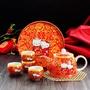 👰結婚💕kitty幸福喜慶茶具組☕️敬茶杯🥂對碗🍵
