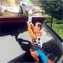 汽車 胡迪吊飾 機車 車尾貼 外部裝飾 搞笑 胡迪 玩偶 公仔 現貨 胡迪車尾