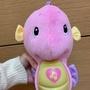 費雪小海馬 正品 嬰兒安撫聲光音樂玩具 寳寳毛絨布偶娃娃