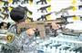 台中.彰化((金和勝玩具))沙色短版 WE 一刀流 ACR 電動槍 E6438