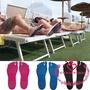 WOR-NAKEFIT粘性足墊腳底粘貼鞋底柔韌雙足保護赤腳拖鞋