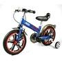 英國Mini Cooper 兒童腳踏車14吋-閃電藍