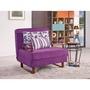 🍀馨雅傢俬🍀M727-2安妮德紫色布沙發床  免運費