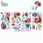 小美人魚 愛麗兒圖案 壁貼/隨意貼 可重複貼 43小張 迪士尼 Ariel