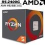 【奇茂科技】AMD R5 2400G Ryzen AM4 處理器 4核心 8緒 代理 3.6G (↑3.9G) 附風扇