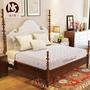 乳膠席夢思床墊20cm厚1.5米1.8m床彈簧床墊椰棕墊軟硬兩用xw