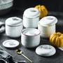 特家燕窩燉盅隔水陶瓷燉盅雙蓋小號內膽帶蓋煲湯盅純創意純白燉罐